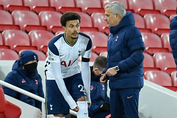 Jose Mourinho failed to get the best out of Alli during his time as Tottenham boss