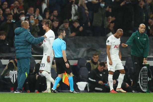 Alli was subbed after after an hour of Tottenham's clash with NS Mura by Nuno Espirito Santo