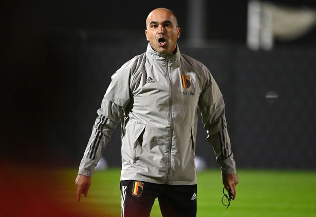 Roberto Martinez head coach of Belgian Team pictured during a training session of the Belgian National Football team prior to the UEFA Nations League match group stage final tournament
