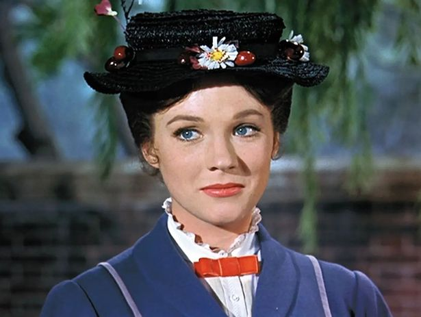 Julie Andrews won an Academy Award for playing Mary Poppins
