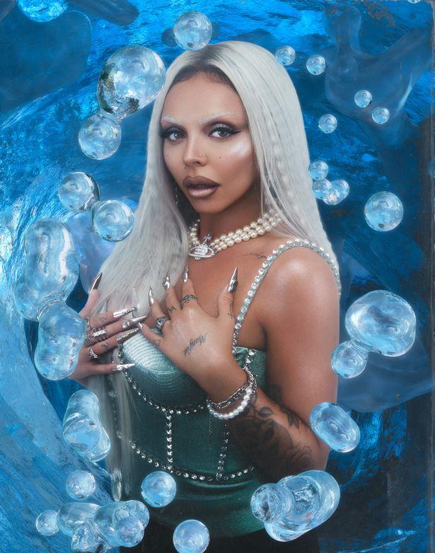 The singer ditched the brunette locks for a platinum makeover