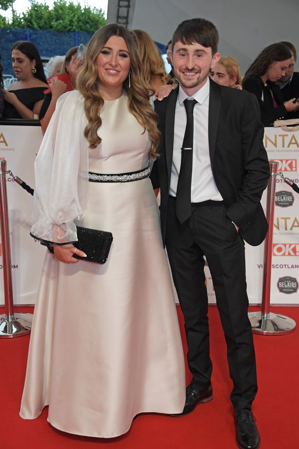 Sophie Sandiford and Pete Sandiford attend the National Television Awards 2021 at The O2 Arena on September 9, 2021 in London, England