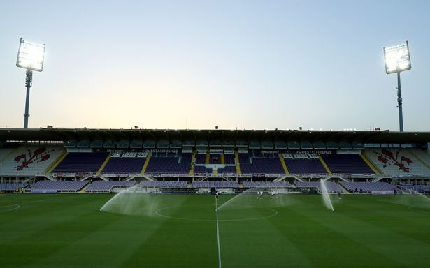 General view inside the stadium during the Serie A match between ACF Fiorentina and Bologna FC at Stadio Artemio Franchi on July 29, 2020 in Florence, Italy.
