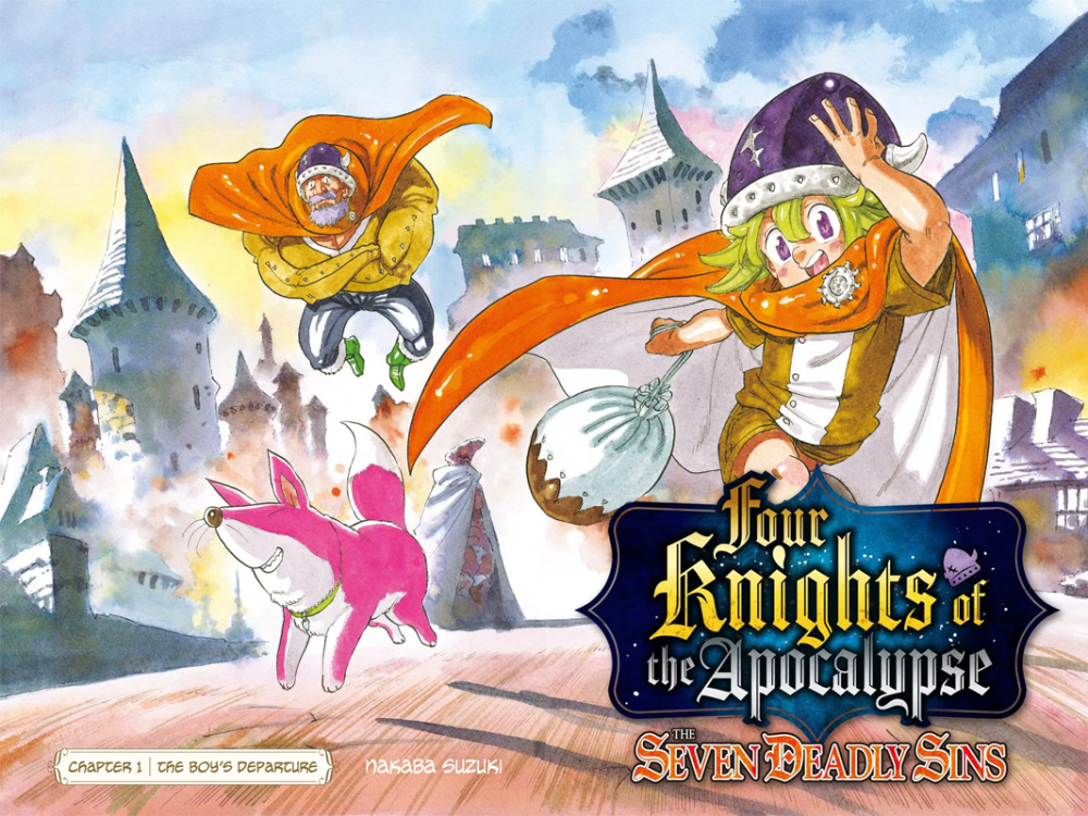 Four Knights Of The Apocalypse Netflix Manga