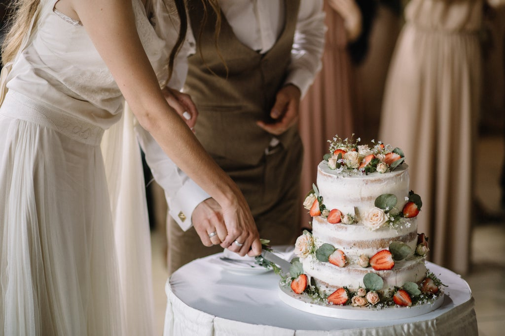 Bride asks guest for £3.66 for taking an additional piece of wedding cake - after checking the CCTV