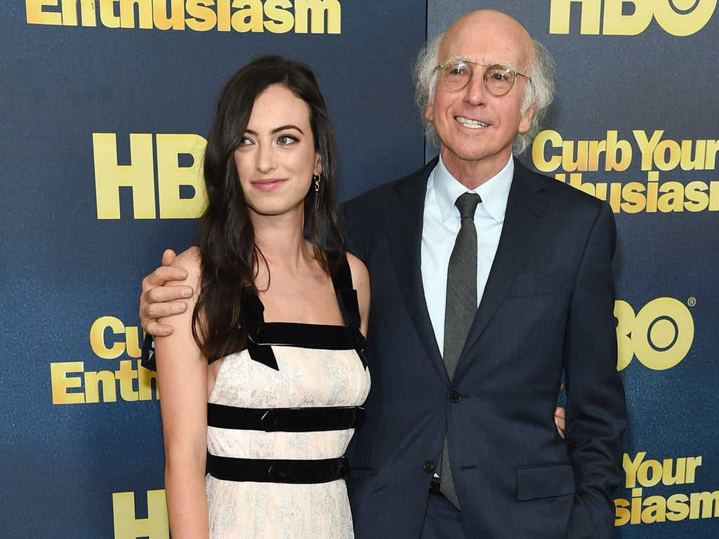 Cazzie David says viral video of Larry David at NYFW is 'disturbing' not funny: 'He's having a breakdown'