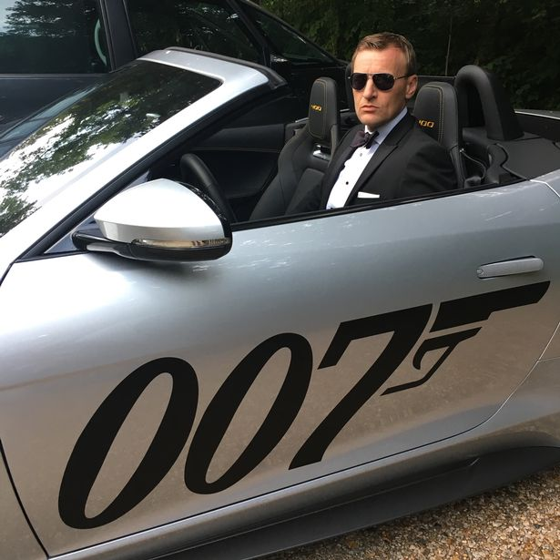 Steve Wright reckons work as a professional James Bond lookalike might dry up with Daniel Craig quitting the role
