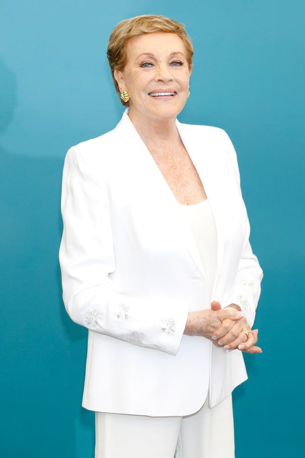 Julie Andrews attends the Golden Lion for Lifetime Achievement photocall during the 76th Venice Film Festival