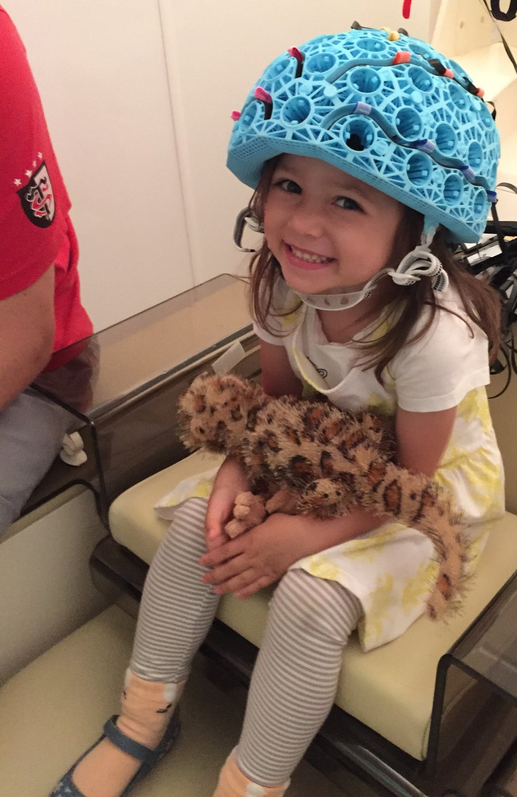 New helmet-style brain scanner offers hope to children with epilepsy
