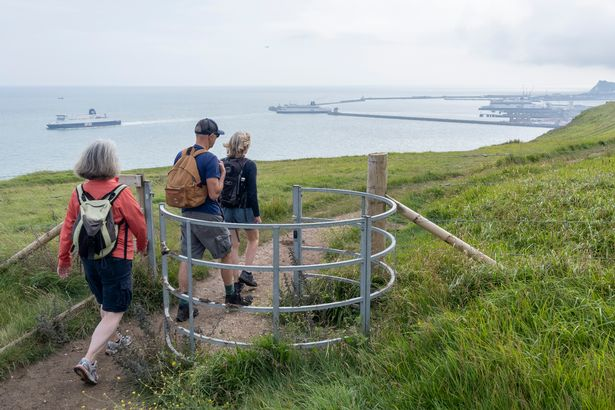 Walkers want to see a body of water during their stroll, like a lake or the sea