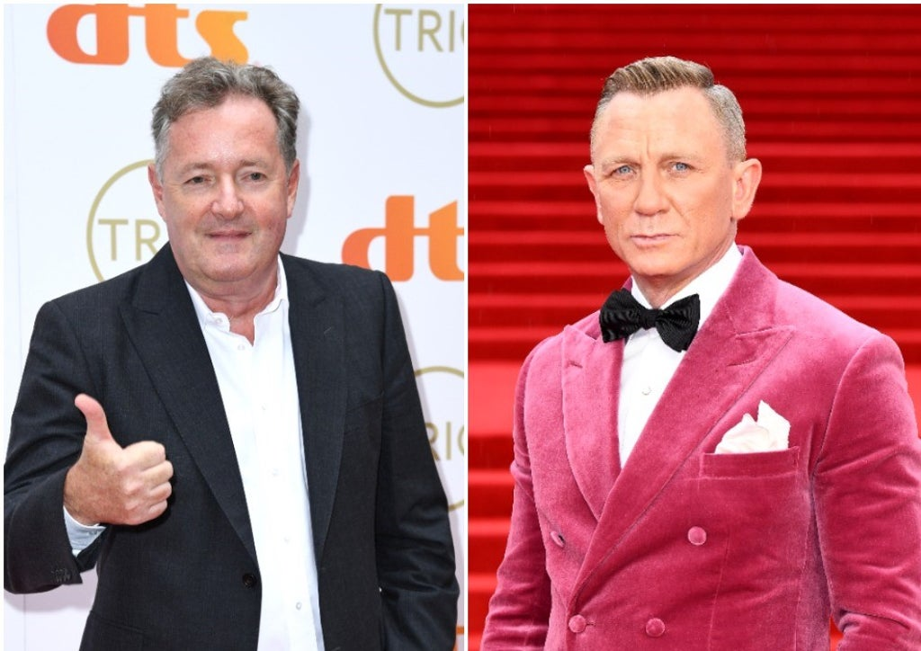 Piers Morgan takes aim at Keir Sternmer for his comments about female Bond. He claims that 007 is the one. 'last real man standing'