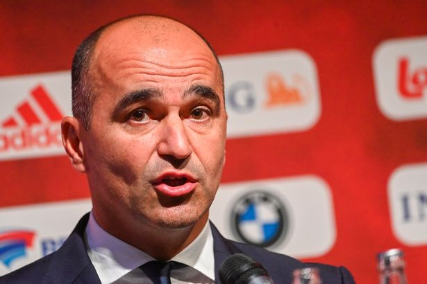 Belgium's head coach Roberto Martinez pictured during a press conference of Belgian national soccer team Red Devils to announce the selection for the upcoming matches in the Nations League , Friday 01 October 2021 in Tubize