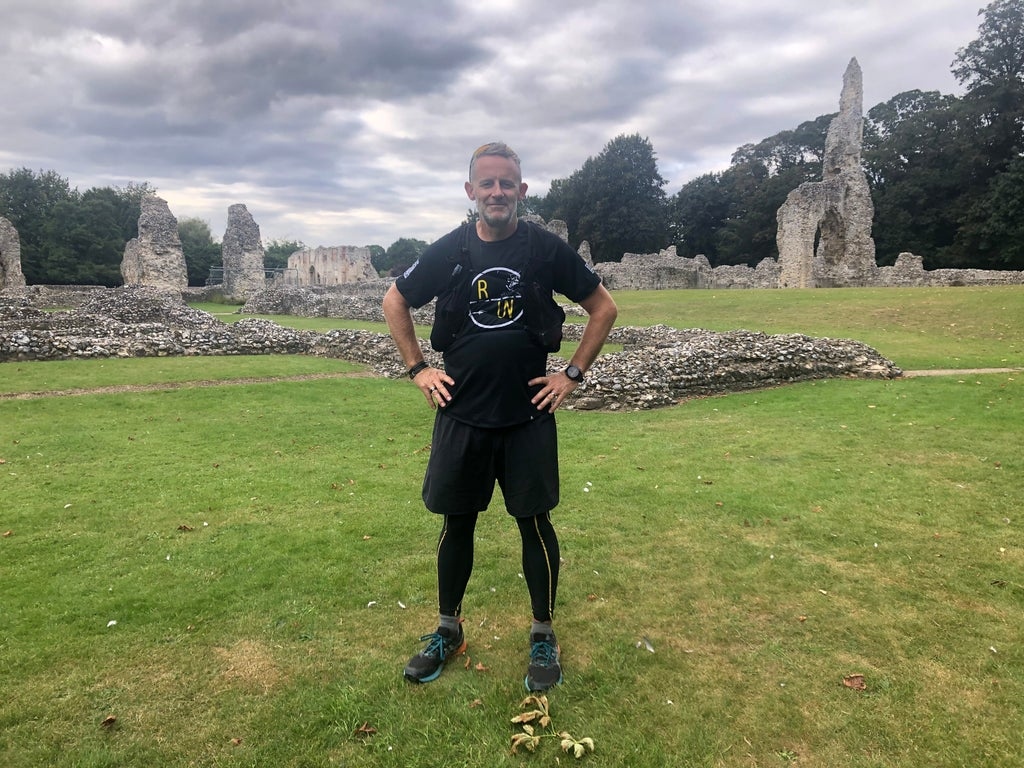 Runner, 52, overcomes suicidal thoughts to tackle 21 ultramarathons in a row